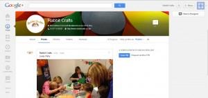 Rabbit Crafts Google+