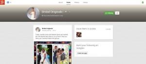 Bridal Originals G+